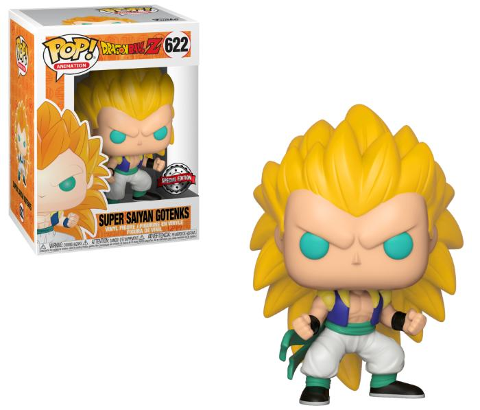 Pop! Animation: Dragonball Z - Super Saiyan 3 Gotenks [Endast Hos GameStop]