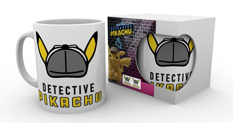 Detective Pikachu Pokemon Mug