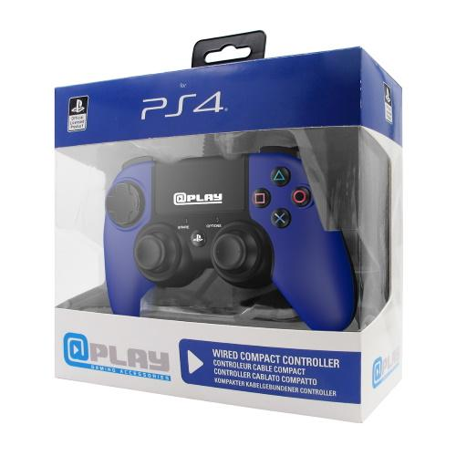 At Play: Blue Compact PS4 Controller