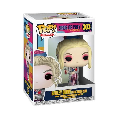 POP Heroes: Birds of Prey- Harley Quinn (Black Mask Club)