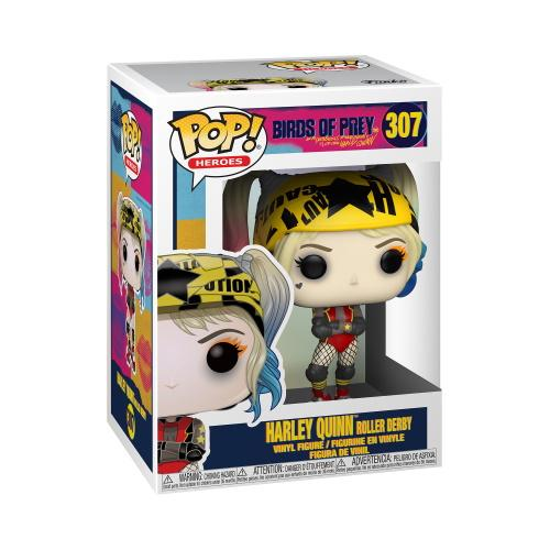 POP Heroes: Birds of Prey- Harley Quinn (Roller Derby)