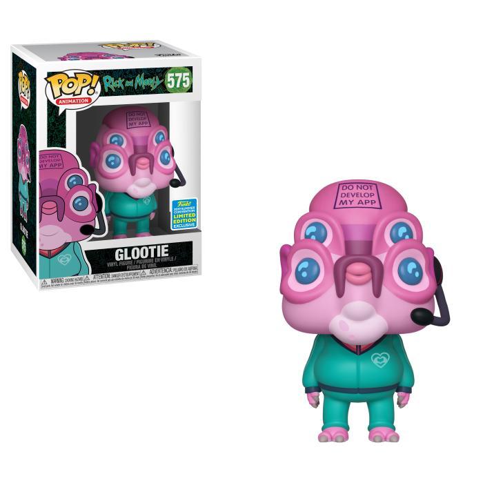 POP Animation: SDCC 2019 Exclusive Rick and Morty - Glootie [Endast Hos GameStop]
