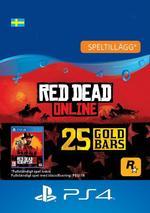 Red Dead Redemption 2: 25 guldtackor till PS4