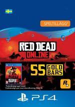 Red Dead Redemption 2: 55 guldtackor till PS4