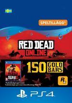 Red Dead Redemption 2: 150 guldtackor till PS4