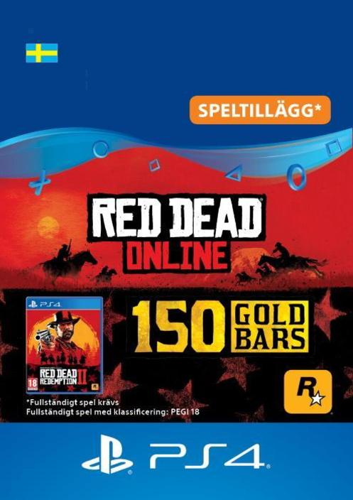 Red Dead Redemption 2: 150 guldtackor till PS4 [DIGITAL]