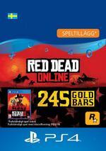 Red Dead Redemption 2: 245 guldtackor till PS4