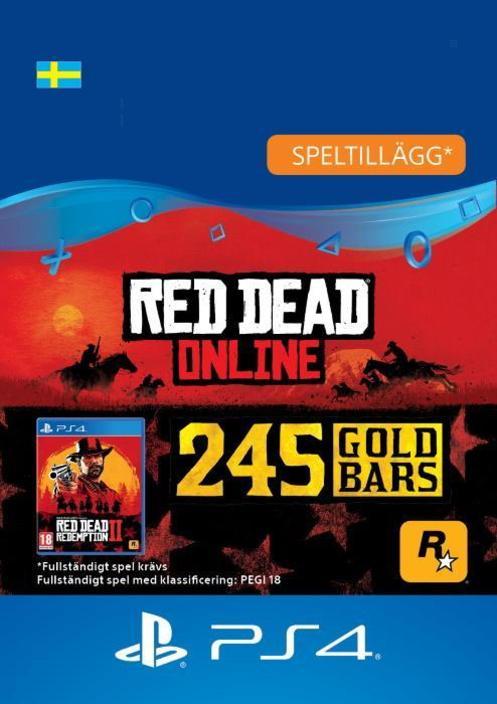 Red Dead Redemption 2: 245 guldtackor till PS4 [DIGITAL]