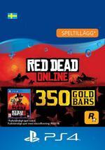 Red Dead Redemption 2: 350 guldtackor till PS4