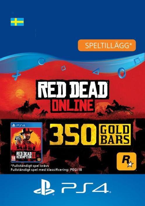 Red Dead Redemption 2: 350 guldtackor till PS4 [DIGITAL]