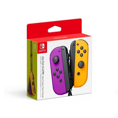 Nintendo Switch Purple/Orange Joy-Con Controllers