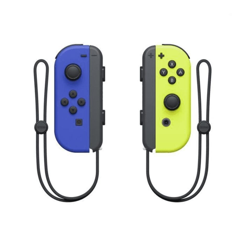 Nintendo Switch Blue/Yellow Joy-Con Controllers