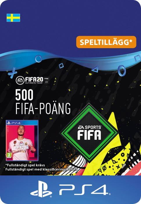 FIFA 20 Ultimate Team™ - 500 FUT-Poäng till PS4 [DIGITAL]