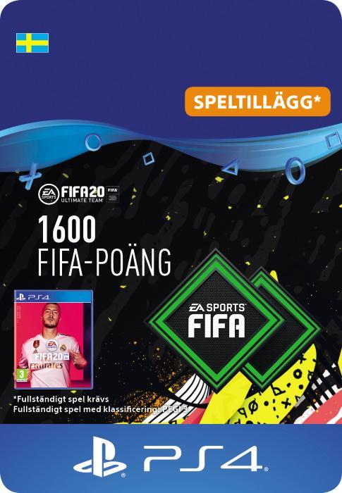 FIFA 20 Ultimate Team™ - 1600 FUT-Poäng till PS4 [DIGITAL]