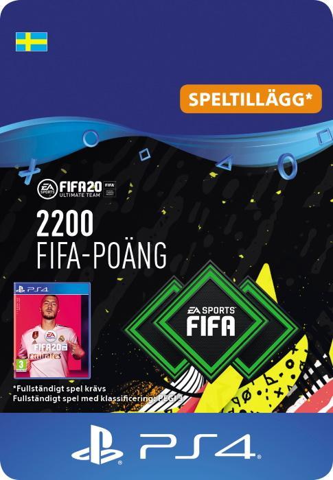 FIFA 20 Ultimate Team™ - 2200 FUT-Poäng till PS4 [DIGITAL]