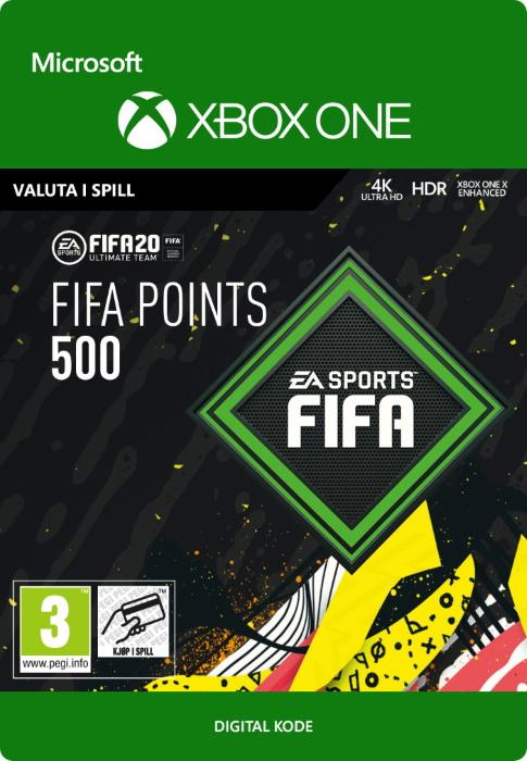 FIFA 20 Ultimate Team™ - 500 FUT-Poäng till Xbox One [DIGITAL]