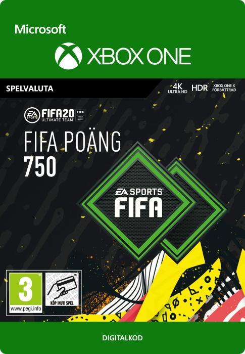 FIFA 20 Ultimate Team™ - 750 FUT-Poäng till Xbox One [DIGITAL]