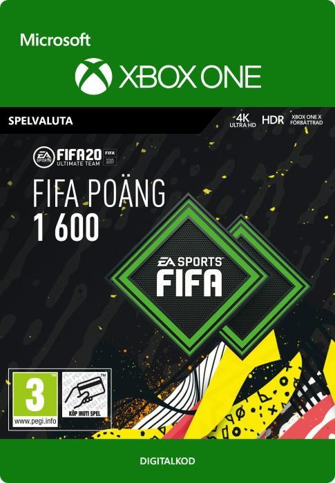 FIFA 20 Ultimate Team™ - 1600 FUT-Poäng till Xbox One [DIGITAL]