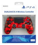 Dualshock®4 V2 Red Camo Controller