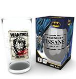 DC Comics The Joker Insane Pint Glass