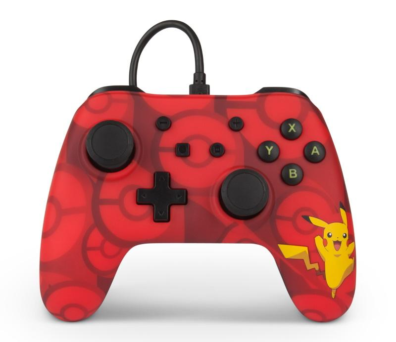 PowerA Pikachu Pokémon Wired Controller