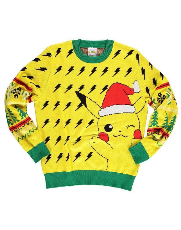 Pokémon: Pikachu Christmas Jumper [Small]